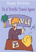 Travel Agent - Greeting Card